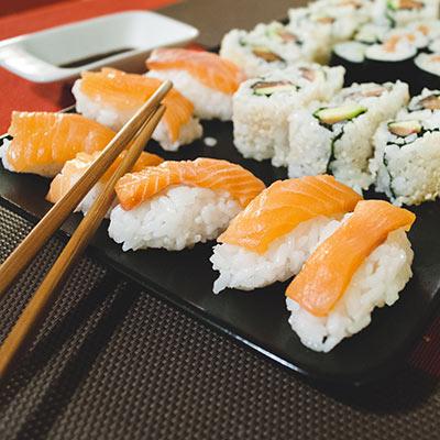 Akebono Sushi at Lonsdale Quay Market