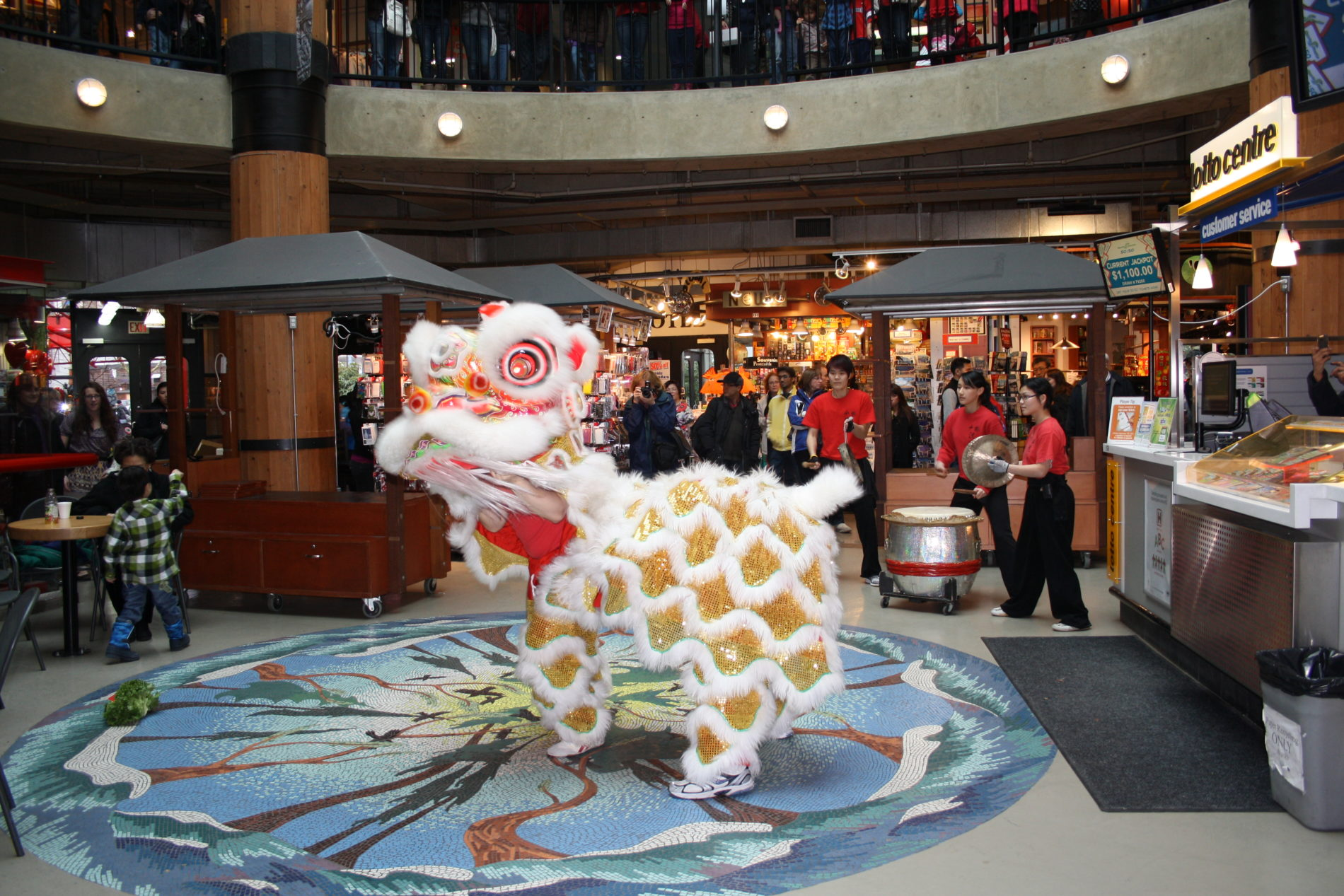 Lunar New Year at the Market