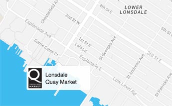 Lonsdale Quay Location